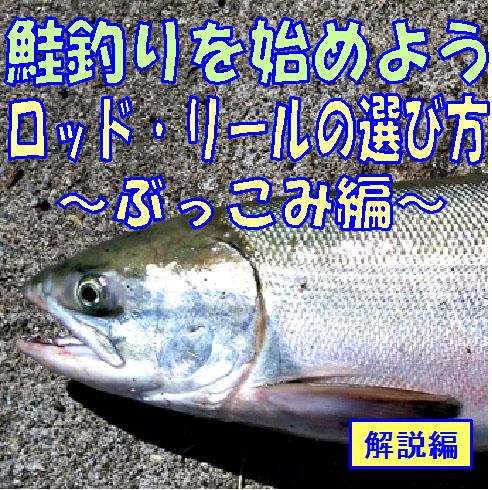 鮭釣りを始めよう!ロッド・リールの選び方、ぶっこみ編