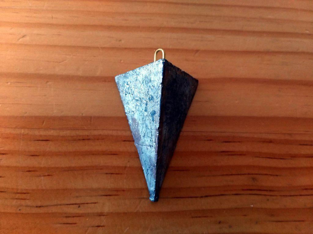 鮭のぶっこみで使用する三角錘