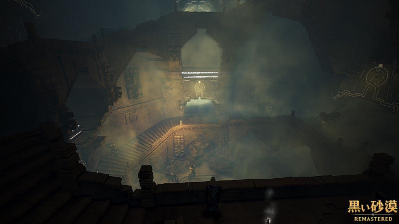 アクマン寺院は螺旋階段状の構造